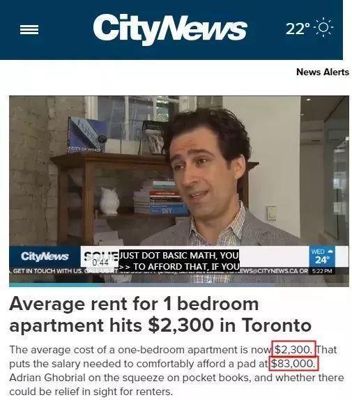 扎心了,在加拿大,留学生月薪多少才能做到生活独立?