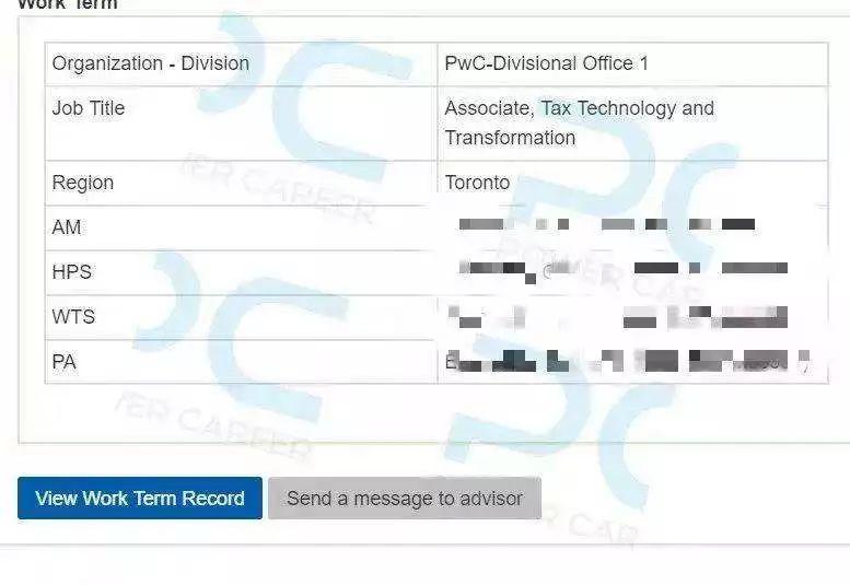Offer捷报 | 恭喜PC VIP学员斩获 PwC Tax Transformation Coop Offer !