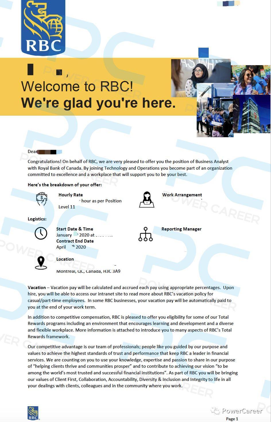 Offer 捷报 | 非名校的他,为什么独得RBC Business Analyst offer的青睐?