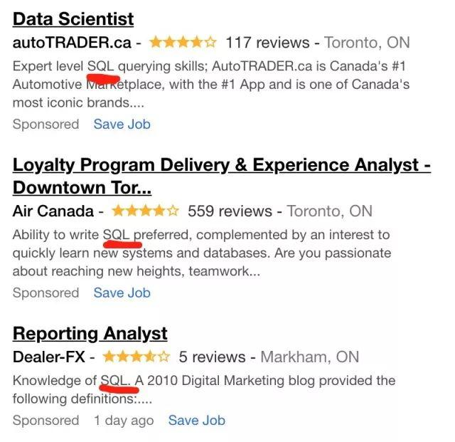 PC重磅 | 想做Data Analyst的你,SQL这种必备技能包还不了解一下?