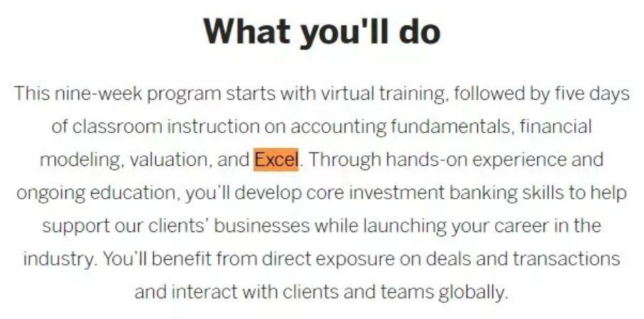 我毕业于Target School,却因为Excel屡次被HR拒之门外!